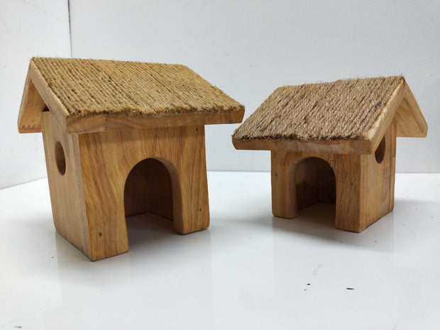 Wooden Cottage set of 2 Toys & Games NExXG