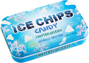 Ice chips  Wintergreen