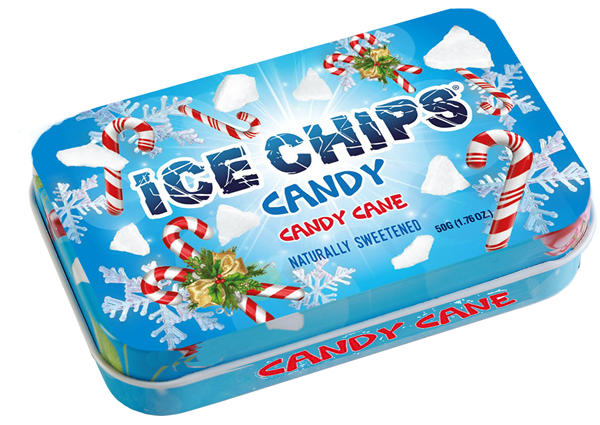 Ice Chips Candy Cane