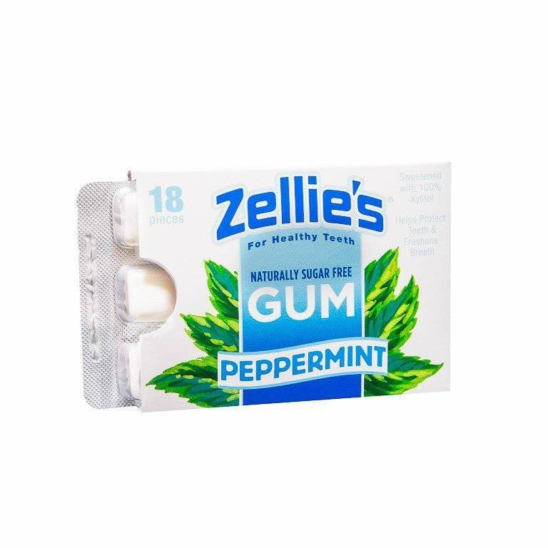 Zellie's Peppermint Gum - The Rothfeld Apothecary