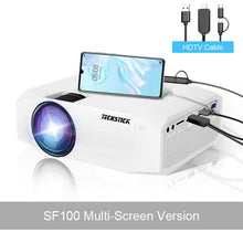 Load image into Gallery viewer, Techstick Portable Mini Projector 1080P HDMI