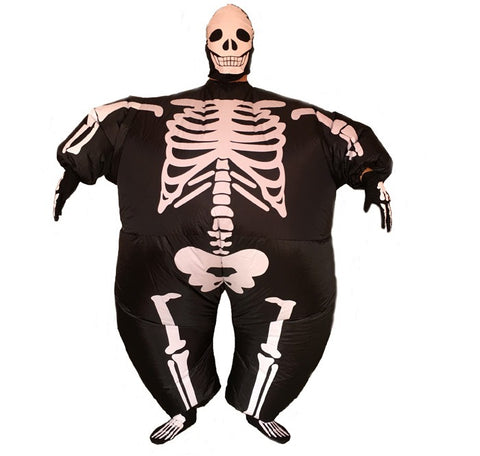 Inflatable Skeleton Costume (comes with mask)