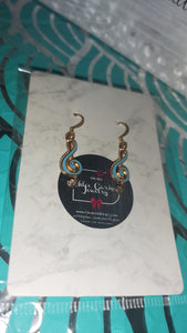 Handmade Music Earrings. Style: Muse-sically (simple)