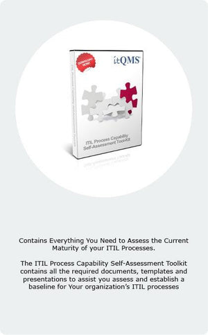 ITIL Self-Assessment ToolKit