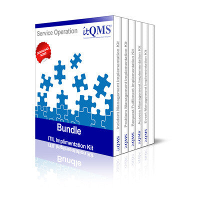 ITIL Bundles - ITIL Service Operation Implementation Kit Bundle