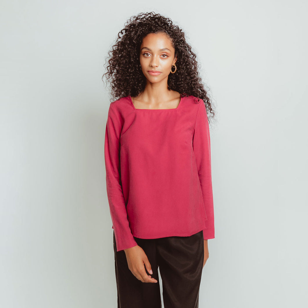 Panel Top in Rose
