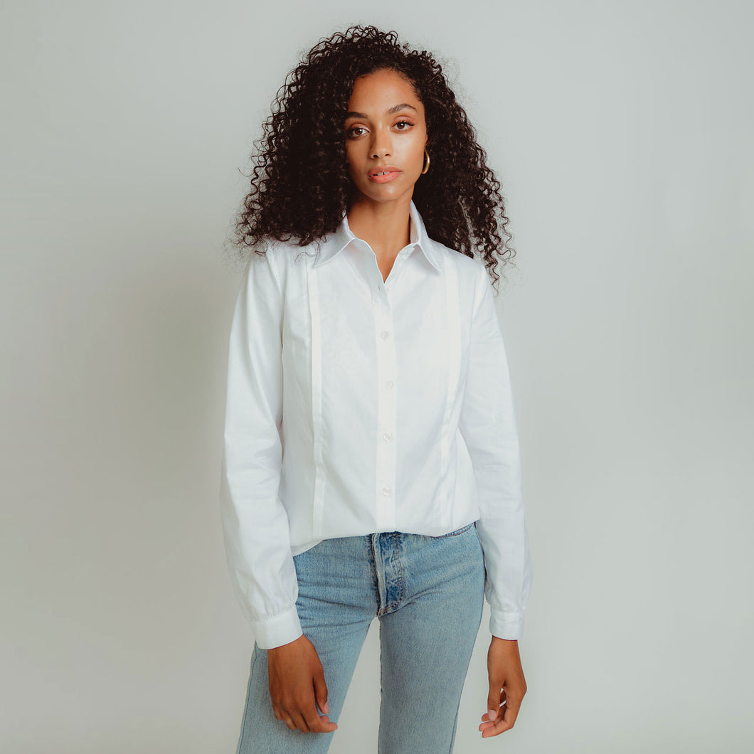 Work Shirt in White