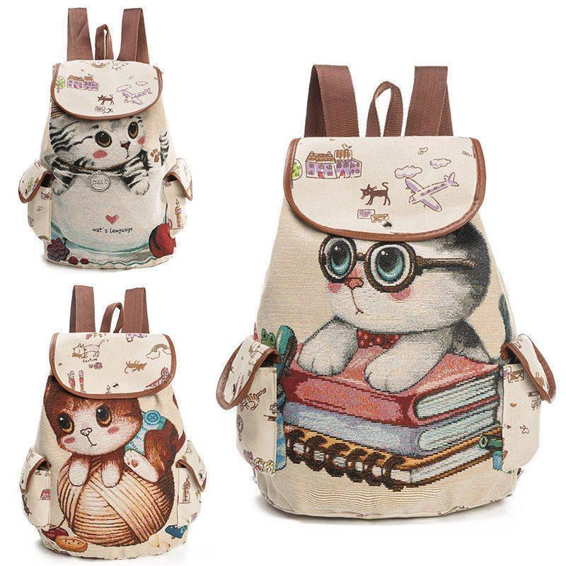 Lovely Cat Backpack - My Home Hax