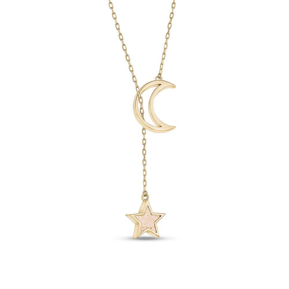 Sailing Moon Necklace