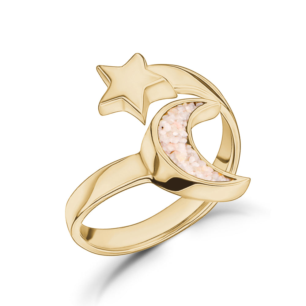 Sailing Moon & Star Ring