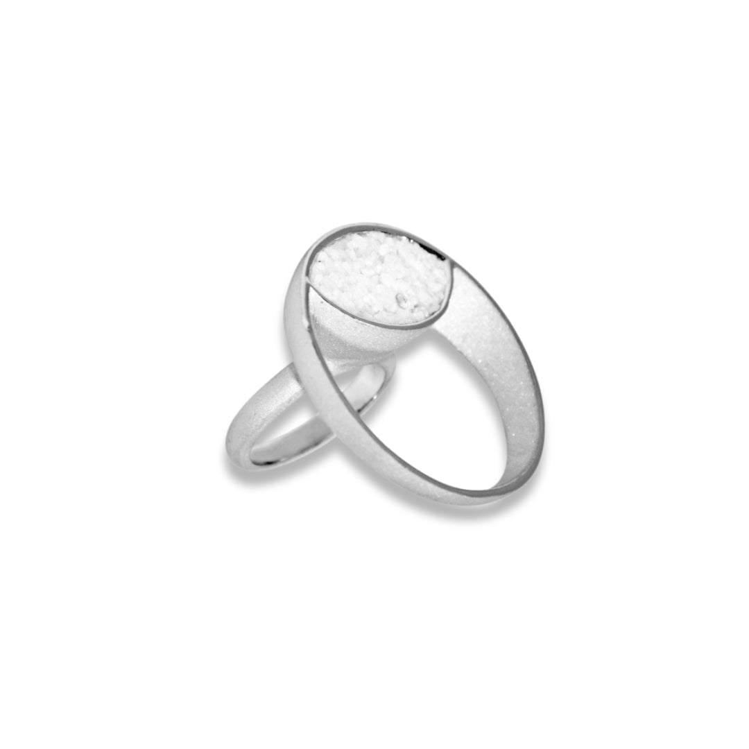 RHODIUM UNIVERSE RING
