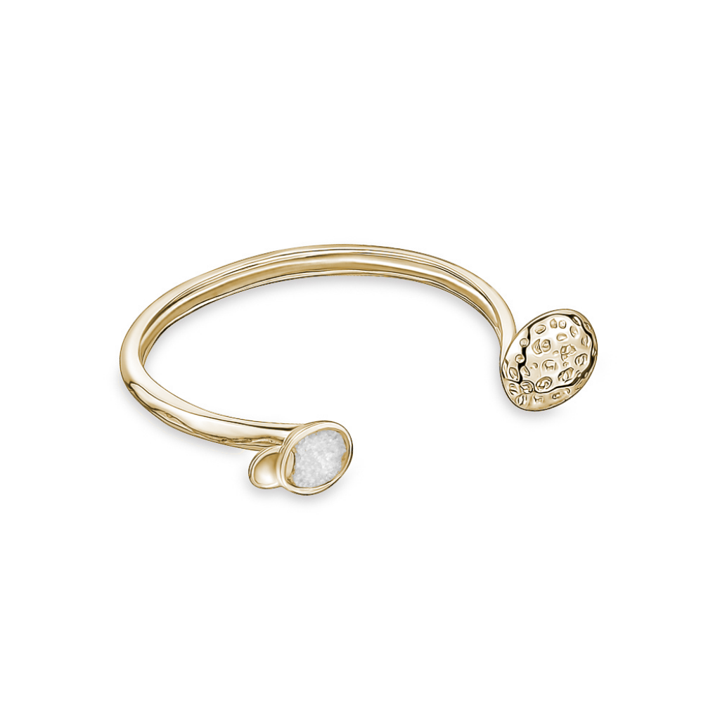 ORBIT BANGLE GOLDEN