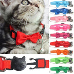 Pet Bow Collar Nylon Ribbon