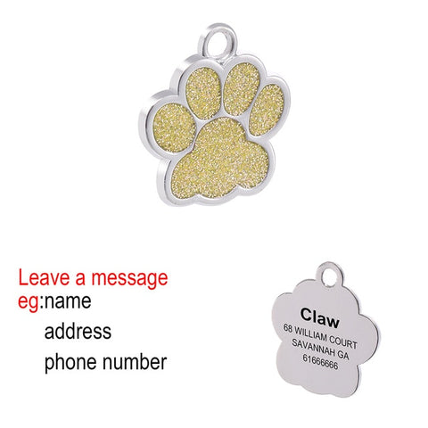 Personalized Dog Tags Engraved