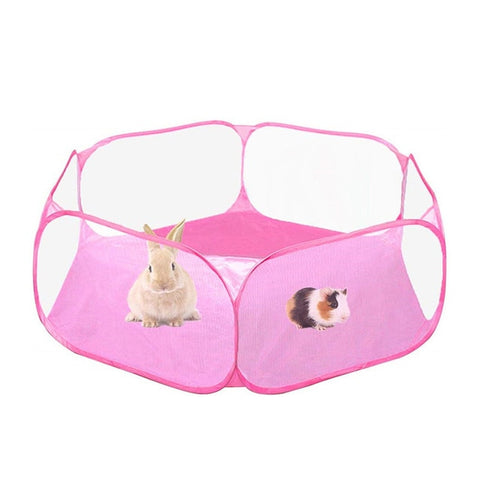 Small Animals Breathable Folding Fence