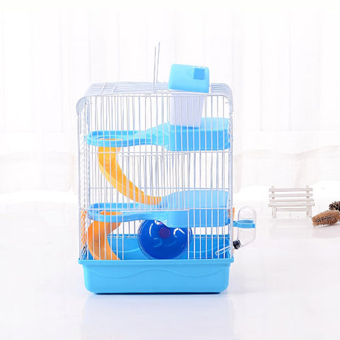 Luxury Three Layer Hamster Cage