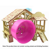 Pet Bed Hamster House Hideout Hut
