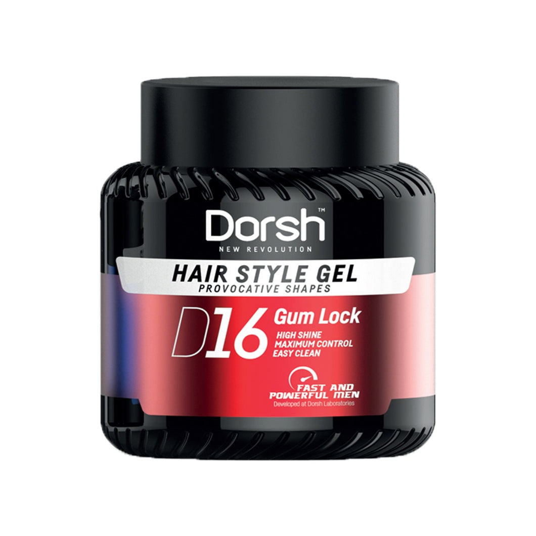 DORSH HAIR STYLE GEL - PROVOCATIVE SHAPES GUM LOCK D16 700 ML