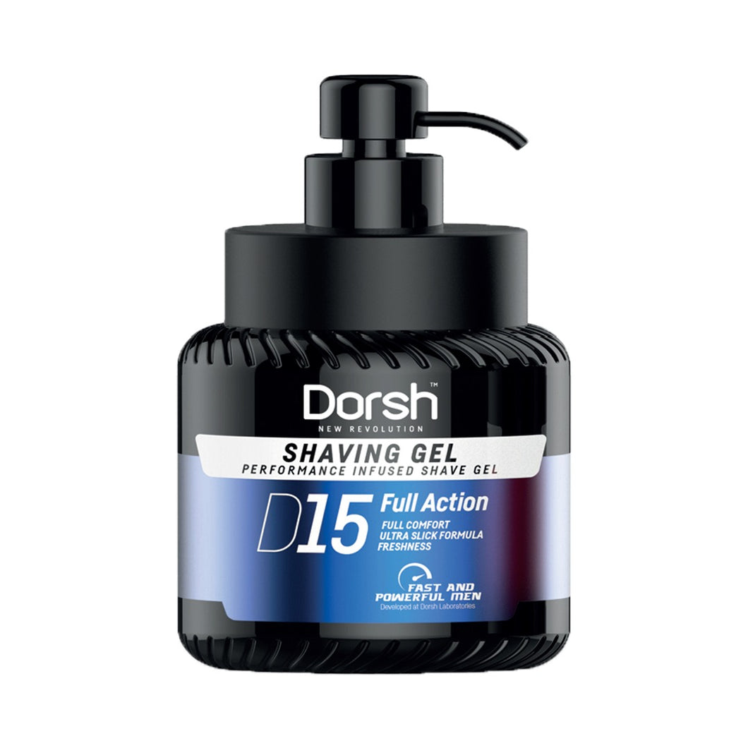 DORSH SHAVING GEL PERFORMANCE INFUSED D15 700 ML