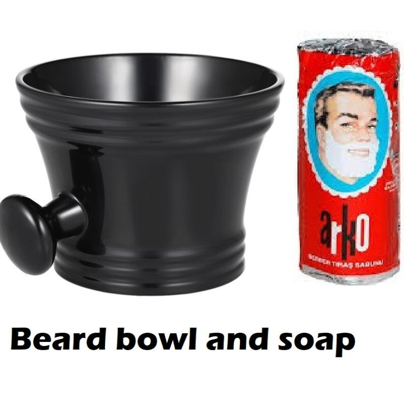 Beard bowl and soap