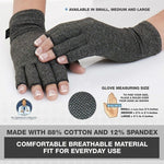 Anti Arthritis Therapy Compression Gloves for Pain Relief