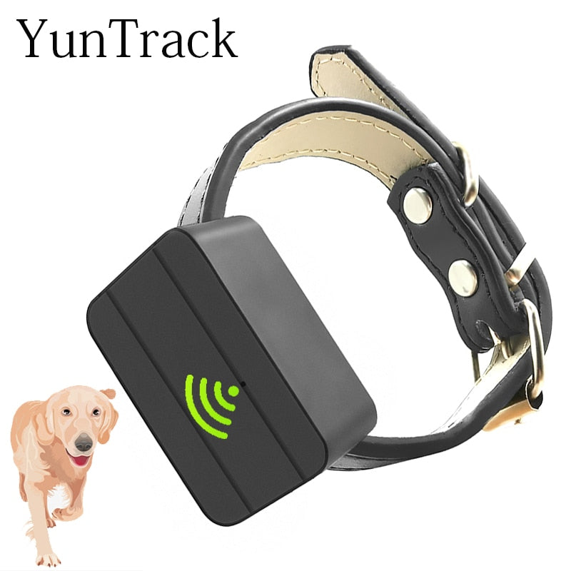 Dogs Pet Mini GPS Tracker, Tracking Device Voice GSM GPRS WIFI 1200 mA for 7 days