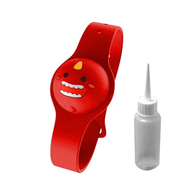 Wristband Hand  Sanitizer Dispenser  + Bottle