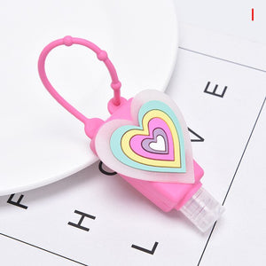 1 pcs Silicone Mini Hand Sanitizer Disposable for Kids