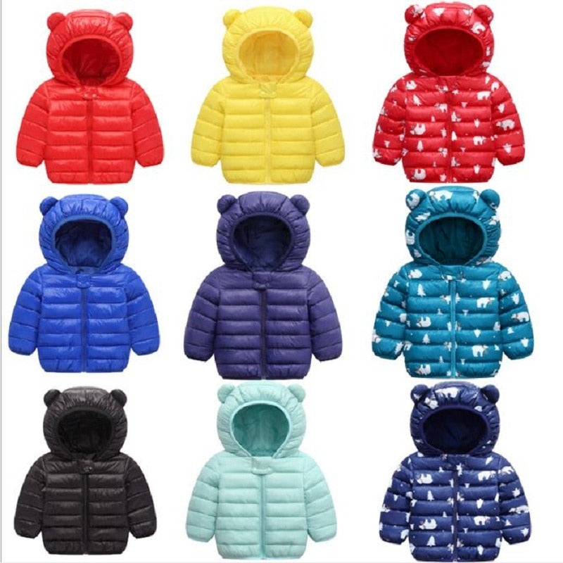Kids Winter Warm Clothes