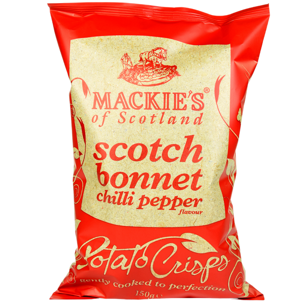 Scotch Bonnet Chilli Pepper Crisps
