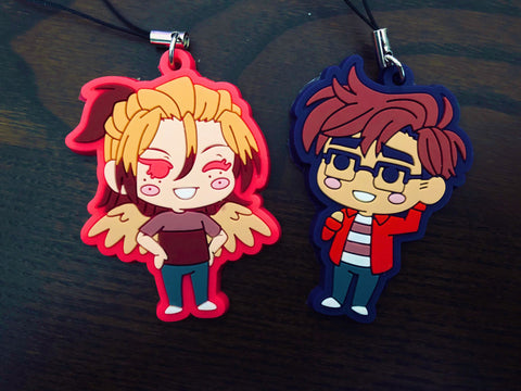 Avialae - cute anime boys rubber charms