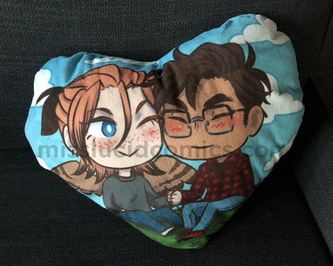 Avialae Heart Pillow Case