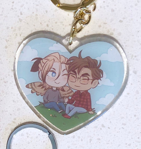 Avialae Heart Keychain