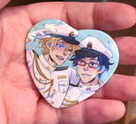Free! Heart Buttons - Nagirei & Sourin