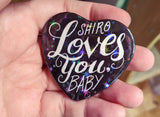 Sheith Heart Buttons