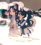 Danmei Standees WITH PURCHASE read description - mxtx, mdzs, 2ha