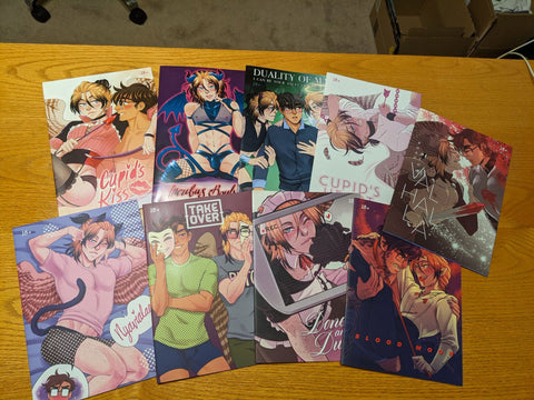 Avialae Doujinshi - Original 18+ Comics