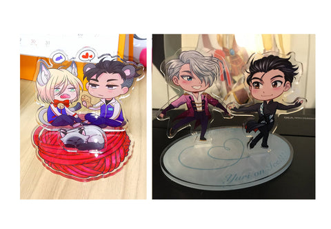Yuri on Ice Standees - Otayuri and Victuuri