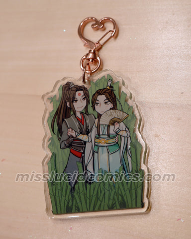 PREORDER - BingQiu Keychain WITH PURCHASE read description