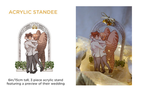 Patreon/KS Preorder: Avialae Wedding Standee