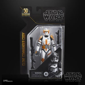 ( Pre Order ) Star Wars Series Black Clone Commander Cody Action Figure
