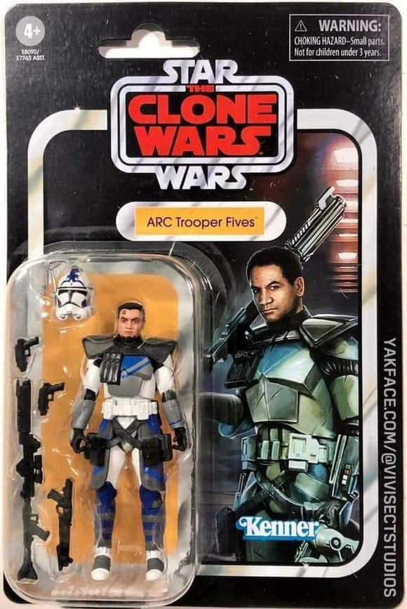 Star Wars Vintage Collection Clone Trooper Fives 3 3/4-Inch Action Figure