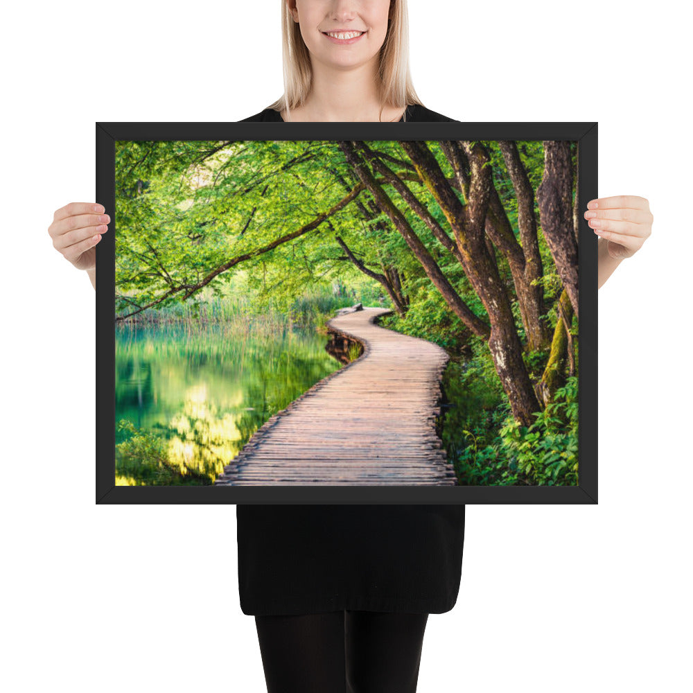 Nature Connection - Meditation Wall Art