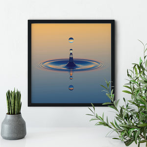 Mindfulness Symbol Reminder - Meditation and Mindfulness Wall Art