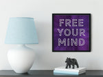 Load image into Gallery viewer, Meditation Wall Art - Free Your Mind