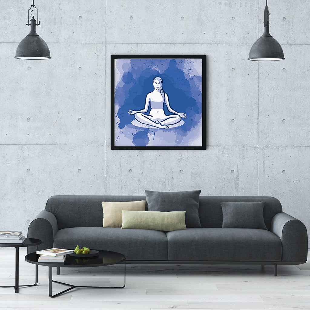 Meditation Wall Art - Meditation Vibes