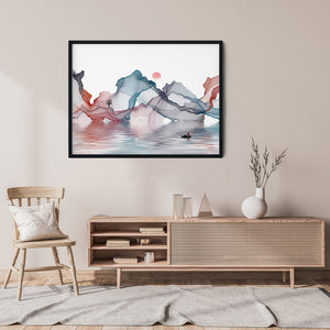 Sailing With Illusions - Meditation and Mindfulness Wall Art