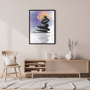 Pastel Balance Vibes - Meditation And Mindfulness Wall Art