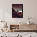 Load image into Gallery viewer, Desert Meditation - Meditation and Mindfulness Wall Art