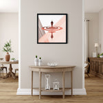 Load image into Gallery viewer, Digital Mindfulness - Red - Meditation and Mindfulness Wall Art